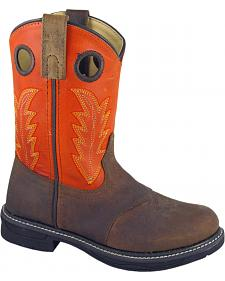 Smoky Mountain Youth Boys' Buffalo Wellington Western Boots - Round Toe
