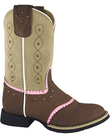 Smoky Mountain Youth Girls' Ruby Belle Western Boots - Round Toe