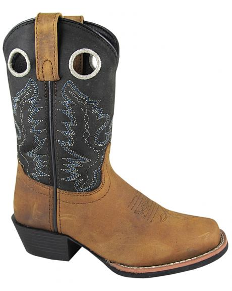 Smoky Mountain Youth Boys' Mesa Western Boots - Square Toe