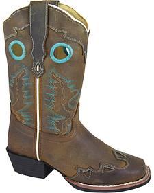 Smoky Mountain Youth Girls' Eldorado Western Boots - Square Toe