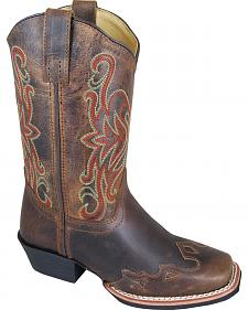 Smoky Mountain Youth Boys' Rialto Western Boots - Square Toe