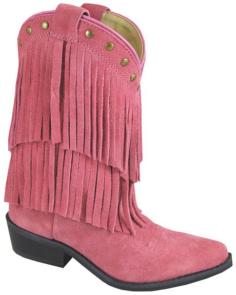Smoky Mountain Youth Girls' Wisteria Western Boots - Medium Toe