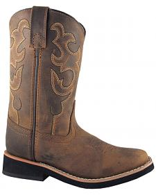 Smoky Mountain Youth Boys' Pueblo Western Boots - Square Toe