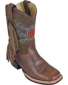 Smoky Mountain Youth Boys' Thunderbird Western Boots - Square Toe