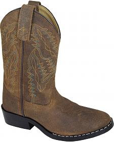 Smoky Mountain Youth Boys' Roosevelt Western Boots - Round Toe
