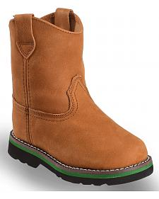 John Deere Toddler Boys' Johnny Popper Roper Western Boots - Round Toe