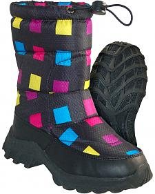 Itasca Girls' Snow Scamp Winter Boots - Round Toe
