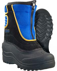Itasca Boys' Snow Stomper Winter Boots - Round Toe