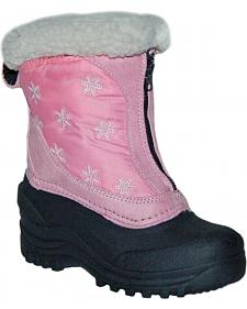 Itasca Girls' Snow Stomper Winter Boots - Round Toe