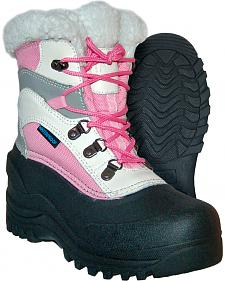 Itasca Girls' Sleigh Bell Winter Boots - Round Toe