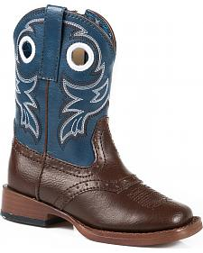 Roper Infant Boys' Blue Western Booties
