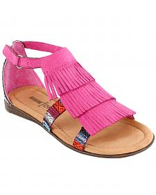 Minnetonka Girls' Maya Sandals