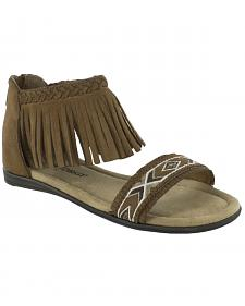 Minnetonka Girls' Coco Sandals
