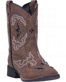 Laredo Girls' Spellbound Cowgirl Boots - Square Toe