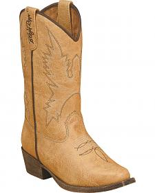 Blazin Roxx Girls' June Zipper Cowgirl Boots - Snip Toe