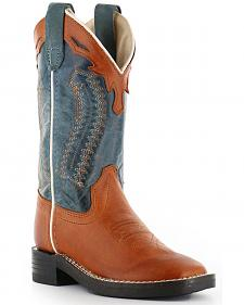 Cody James Boys' Western Boots - Square Toe