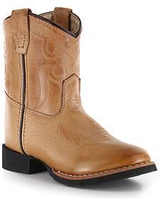 Cody James Toddler Showdown Western Boots - Round Toe