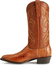 Nocona Ostrich Leg Boots - medium toe at Sheplers