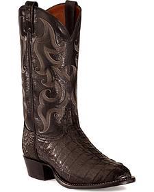 Tony Lama Caiman Tail Boots
