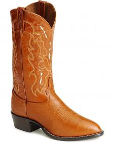 Tony Lama smooth ostrich cowboy boots