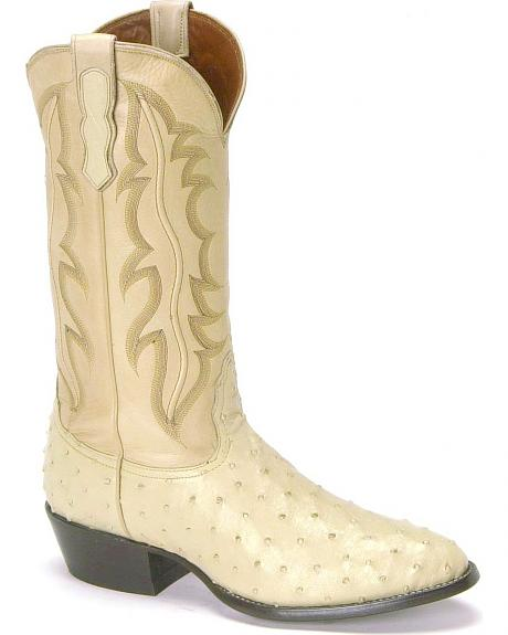 Nocona full quill ostrich boots