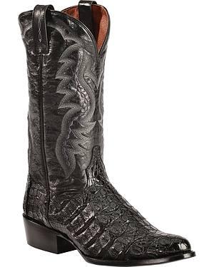 Dan Post Flank Caiman Cowboy Boots