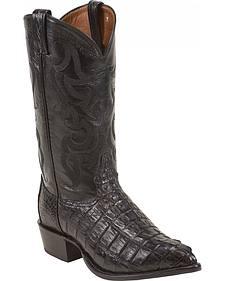 Tony Lama Caiman Tail Cowboy Boots