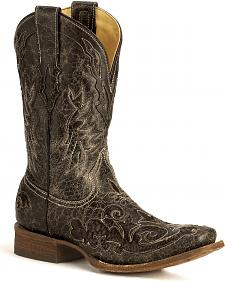 Corral Python Inlay Western Boots
