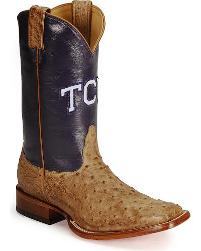 Nocona Texas Christian University College Boots Western & Country MDTCU02