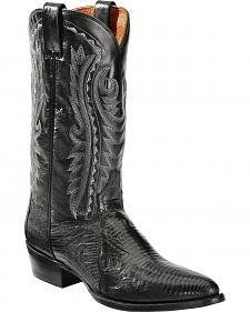 Dan Post Men's Teju Lizard Western Boots - Medium Toe