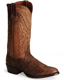 Dan Post Bay Apache Flank Caiman Cowboy Boots - Medium Toe