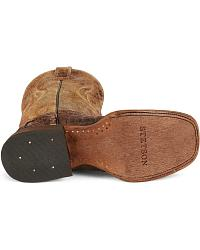 Stetson Flank Cut Caiman Cowboy Boots - Square Toe at Sheplers