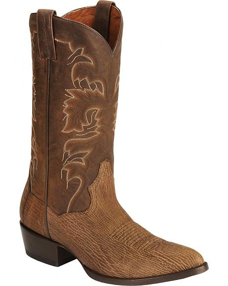 Dan Post Soft Shark Cowboy Boots - Round Toe