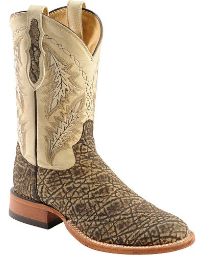 Tony Lama Vintage Elephant Cowboy Boots Round Toe Western & Country SS1000