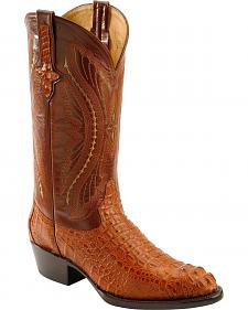 Ferrini Caiman Body Crocodile Cowboy Boots - Medium Toe