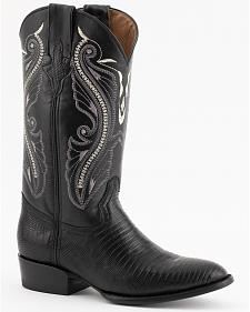 Ferrini Teju Lizard Cowboy Boots - Round Toe