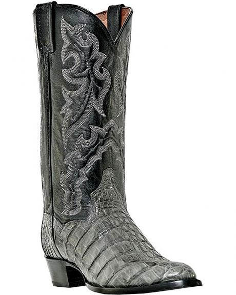 Dan Post Birmingham Caiman Cowboy Boots - Medium Toe