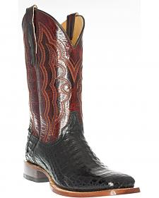 Cinch Men's Caiman Belly Western Boots - Square Toe