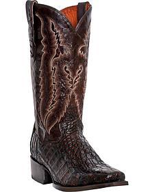 Dan Post Lagoon Caiman Cowboy Boots - Square Toe