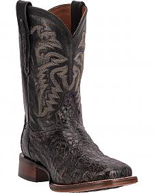Dan Post Everglades Caiman Cowboy Boots - Square Toe