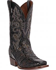 Dan Post Antioch Caiman Cowboy Boots - Square Toe