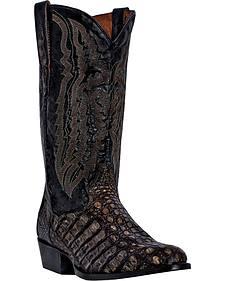 Dan Post Everglades Caiman Cowboy Boots - Round Toe