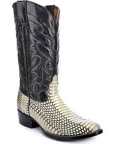 Circle G Cobra Cowboy Boots - Round Toe
