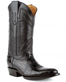 Ferrini Alligator Belly Exotic Cowboy Boots - Medium Toe