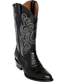 Ferrini Men's Python Cowboy Boots - Round Toe