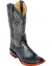 Ferrini Men's Embossed Cowboy Boots - Square Toe