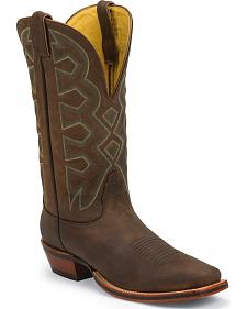 Nocona Sandlot Prosper Buffalo Let's Rodeo Western Boots - Square Toe