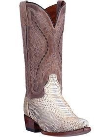 Dan Post Python Orlando Cowboy Boots - Snip Toe