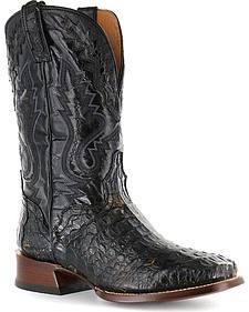 El Dorado Caiman Cowboy Boots - Square Toe