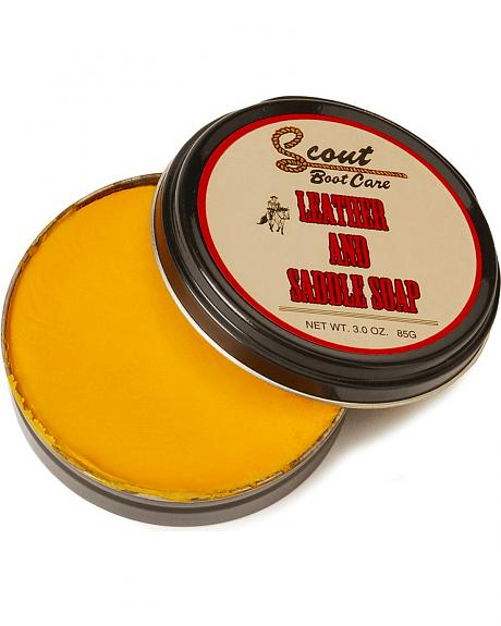 Scout Leather and Saddle Soap
